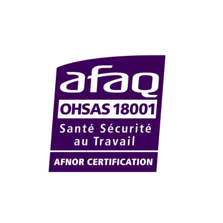 Certification sécurité AFAQ 18001