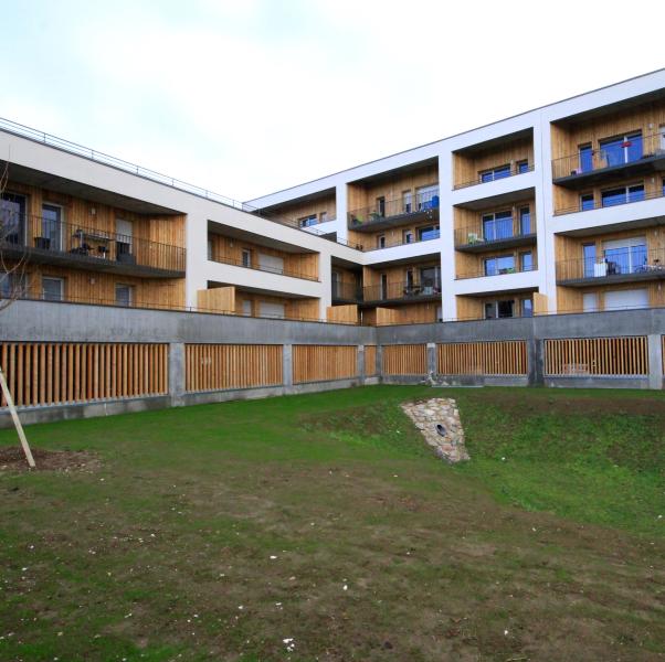 Conception construction de 32 logements collectifs