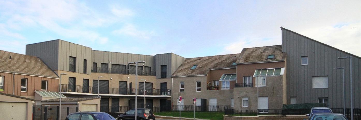 Résidences 106 logements Carvin-Hénocque Amiens