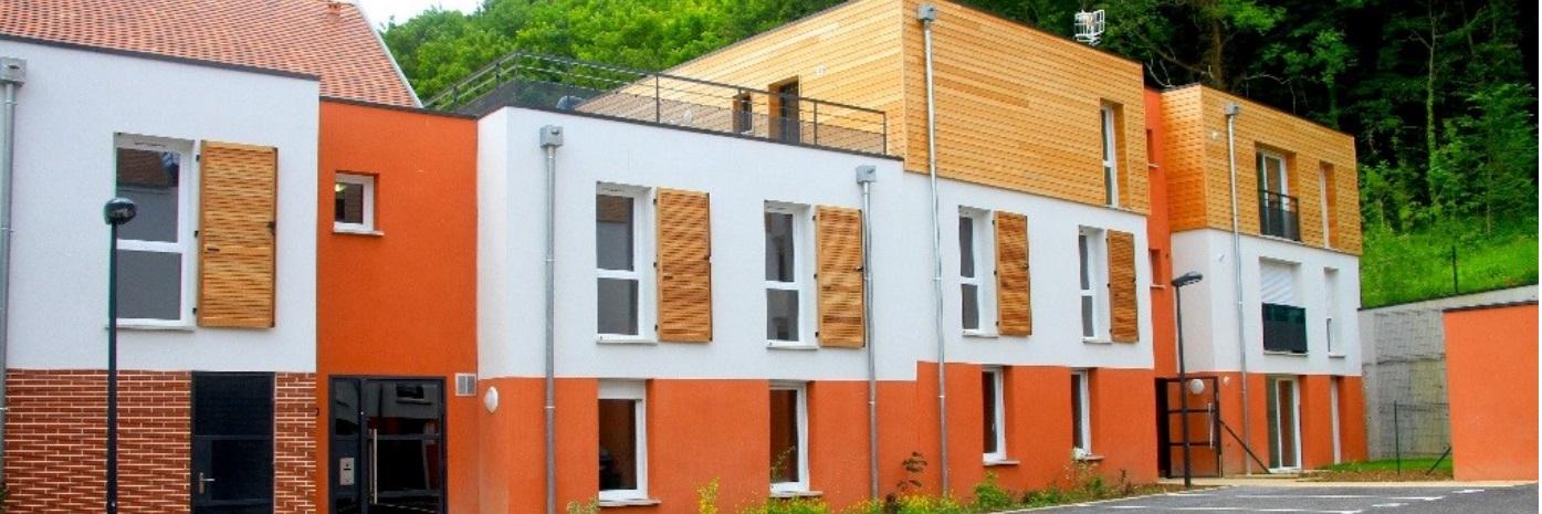 Terrasse résidence Le Clos Saint-Pierre à Jaux