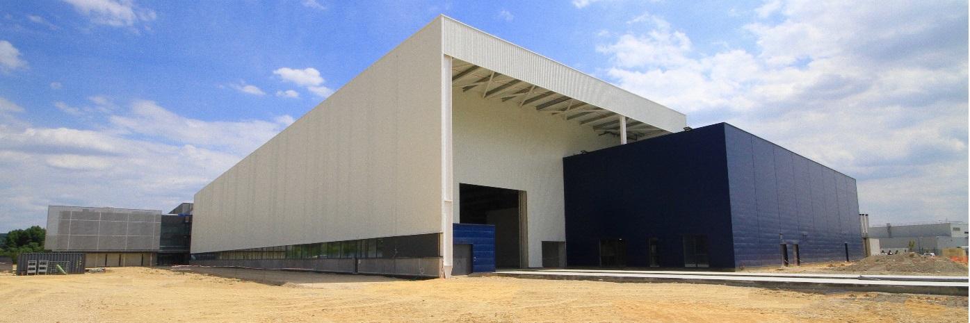 Les Mureaux Ariane Bâtiment de fabrication