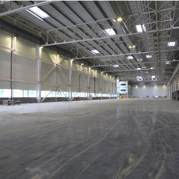 Construction un bâtiment fabrication airbus