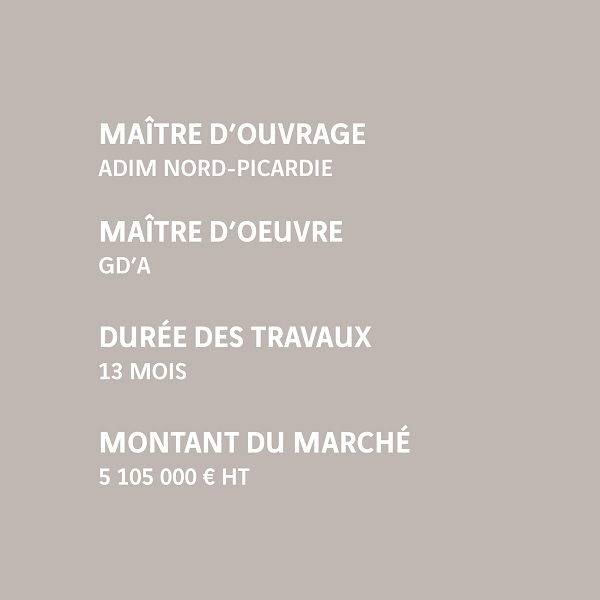 Infos Amiens Delouard 126 logements ADIM