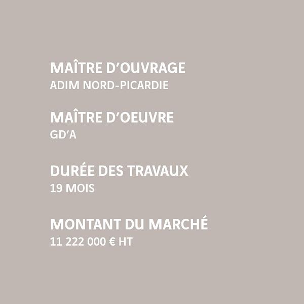 Infos Margny-lès-Compiègne 95 logements ADIM