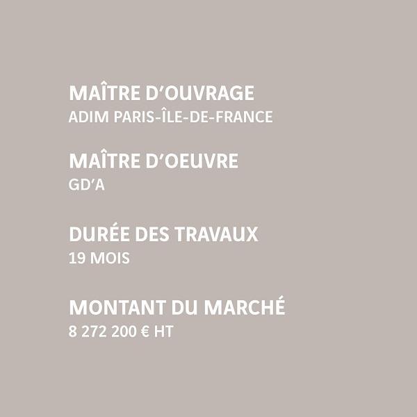 Infos Noisy-le-Grand Yonis 84 logements ADIM