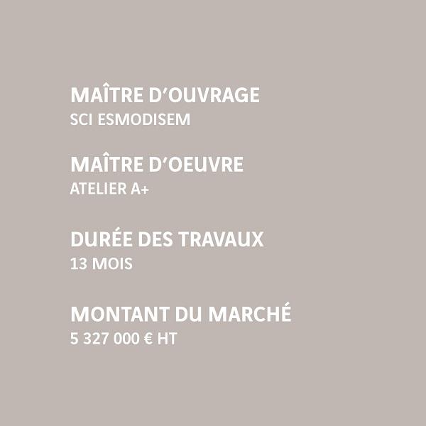 Infos Pantin ESMOD ISEM Banque de France
